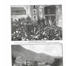 Coleccionismo: AÑO 1914 RECORTE PRENSA MUERTE ENTIERRO AVIADOR LEGAGNEUX AVIACION. Lote 183960481