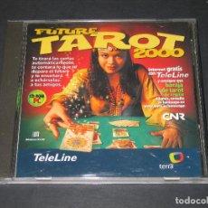 Coleccionismo: CD-ROM FUTURE TAROT 2000 - TELELINE - TERRA - GRUPO ZETA - 2000. Lote 184029357