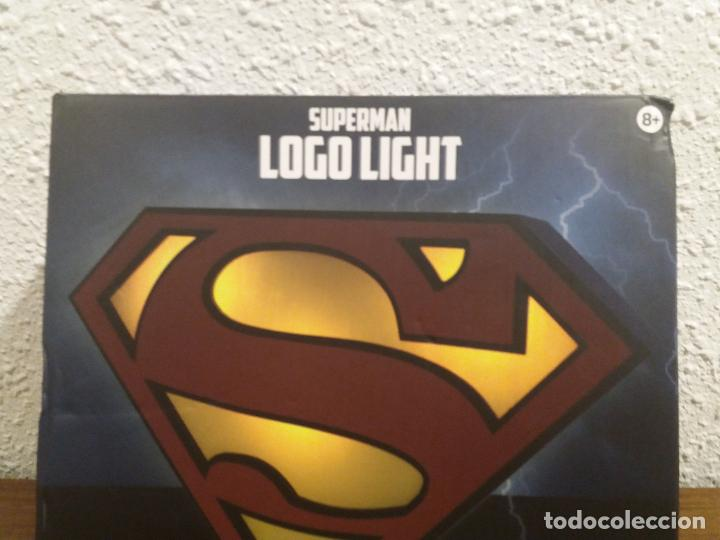 Coleccionismo: SUPERMAN LOGO LIGHT - Foto 2 - 184298830