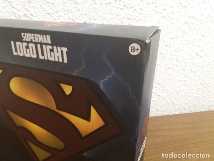 Coleccionismo: SUPERMAN LOGO LIGHT - Foto 4 - 184298830