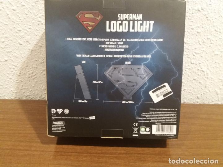 Coleccionismo: SUPERMAN LOGO LIGHT - Foto 6 - 184298830