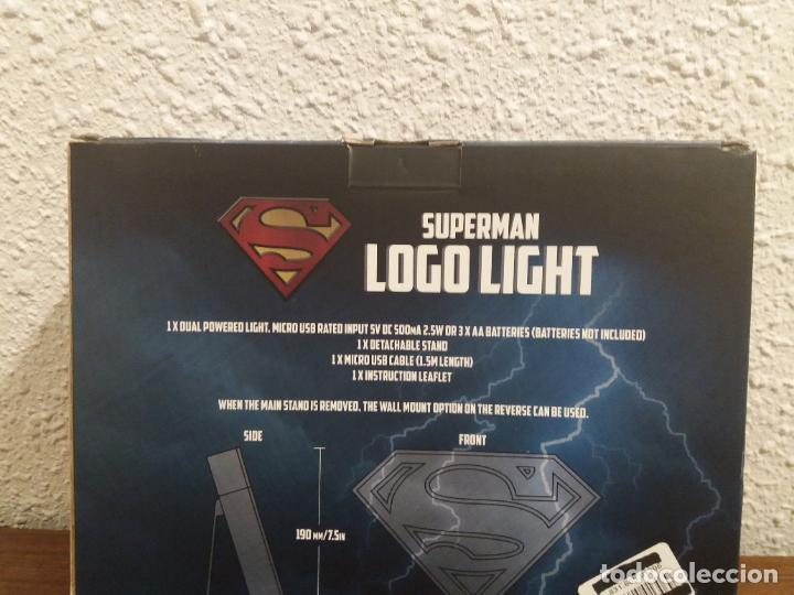 Coleccionismo: SUPERMAN LOGO LIGHT - Foto 7 - 184298830