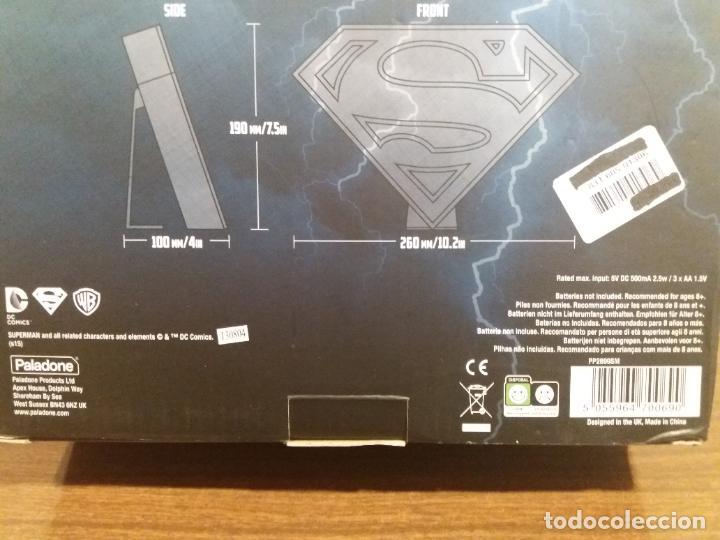 Coleccionismo: SUPERMAN LOGO LIGHT - Foto 8 - 184298830
