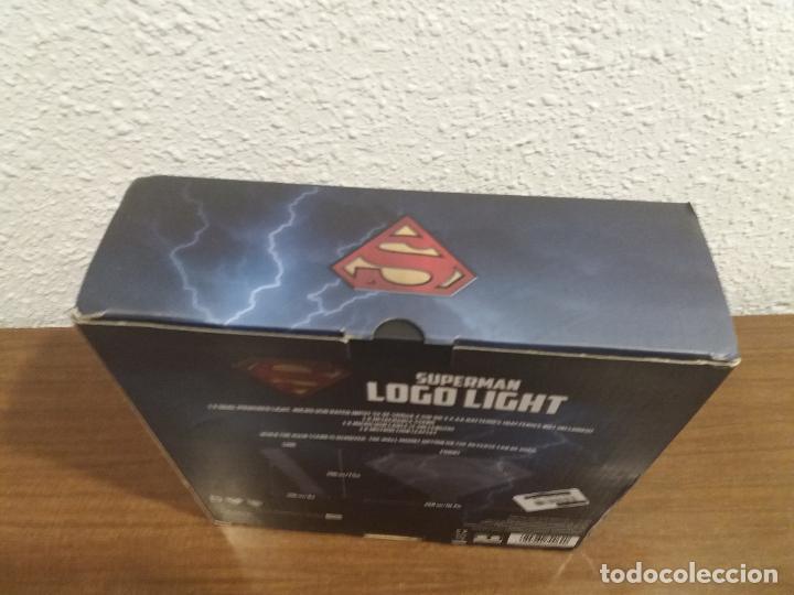 Coleccionismo: SUPERMAN LOGO LIGHT - Foto 12 - 184298830
