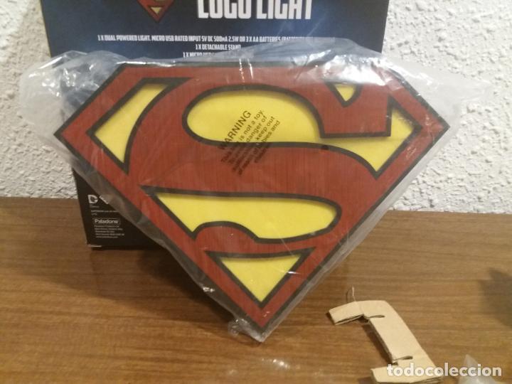 Coleccionismo: SUPERMAN LOGO LIGHT - Foto 14 - 184298830