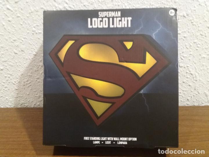 SUPERMAN LOGO LIGHT (Coleccionismo - Varios)