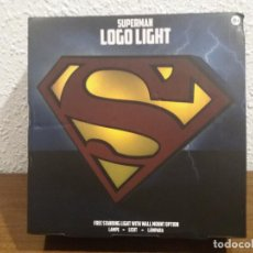 Coleccionismo: SUPERMAN LOGO LIGHT. Lote 184298830