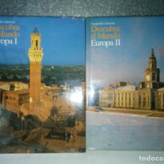 Coleccionismo: EUROPA I Y II DESCUBRA EL MUNDO GEOGRAFÍA UNIVERSAL CLUB INTERNACIONAL DEL LIBRO ( PRECINTADO ). Lote 184487585