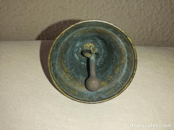 Coleccionismo: Antigua campana de mano - Foto 3 - 184536601