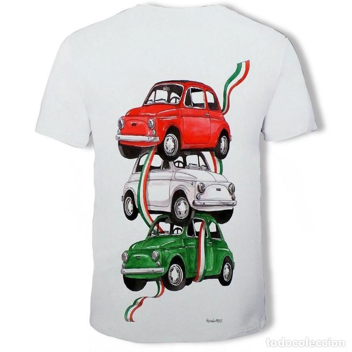 Coleccionismo: CAMISETA FIAT 500 - Foto 2 - 184595325