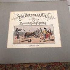 Coleccionismo: TAUROMAQUIA - SPANISH BULL FIGHTING - LONDON 1813. Lote 184667318