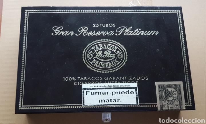 CAJA DE PUROS VACIA GRAN RESERVA PLATINUM LA PAZ (Coleccionismo - Varios)
