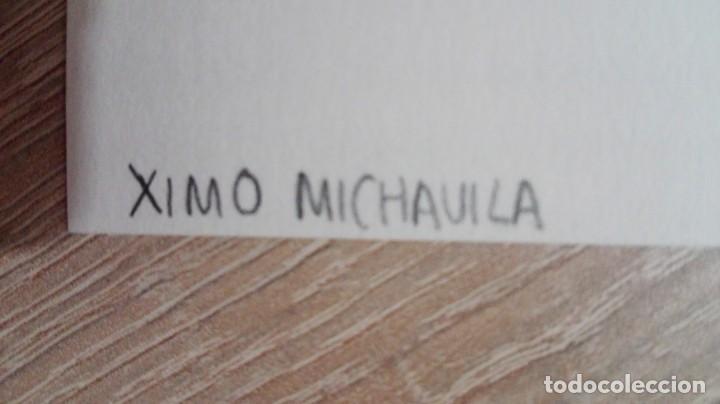 Coleccionismo: XIMO MICHAVILA-LAMINA REPROD.OBRA-AÑOS 90-BUEN GRAMAJE Y ESTADO. - Foto 4 - 185660542