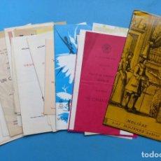 Coleccionismo: TEATRO, 27 ANTIGUOS PROGRAMAS, AÑOS 1960 - VER FOTOS ADICIONALES. Lote 185970680
