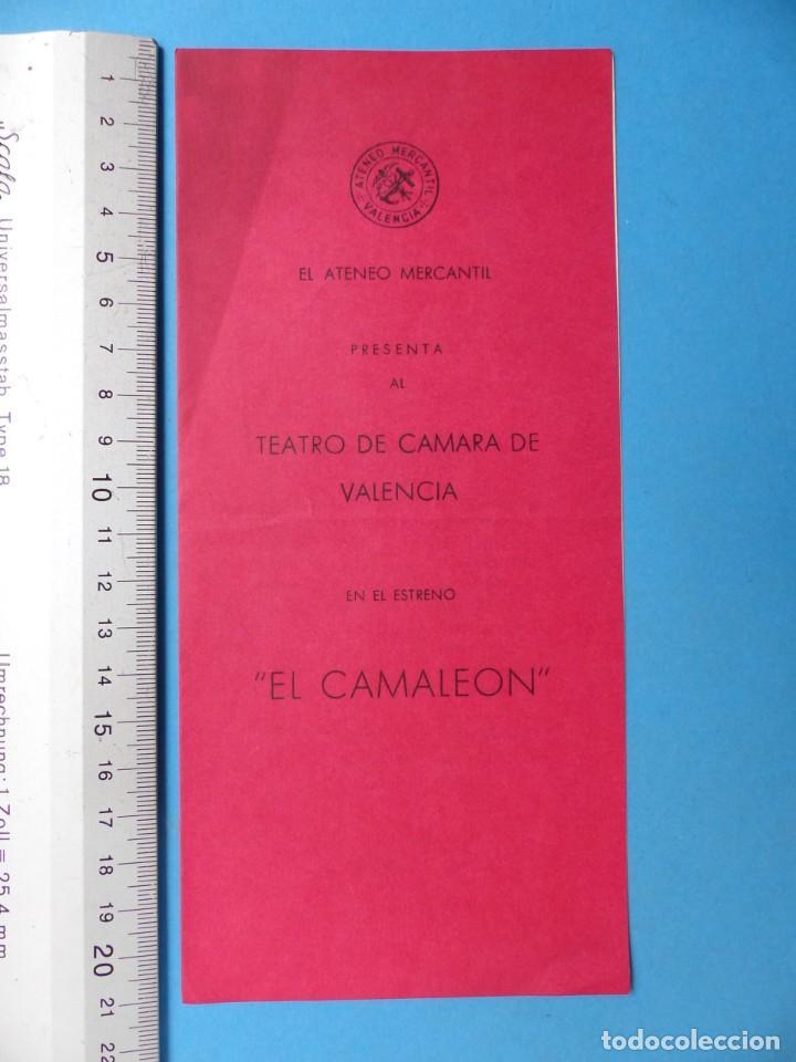 Coleccionismo: TEATRO, 27 ANTIGUOS PROGRAMAS, AÑOS 1960 - VER FOTOS ADICIONALES - Foto 3 - 185970680