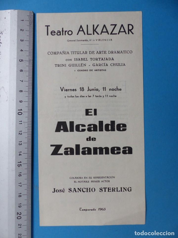Coleccionismo: TEATRO, 27 ANTIGUOS PROGRAMAS, AÑOS 1960 - VER FOTOS ADICIONALES - Foto 5 - 185970680