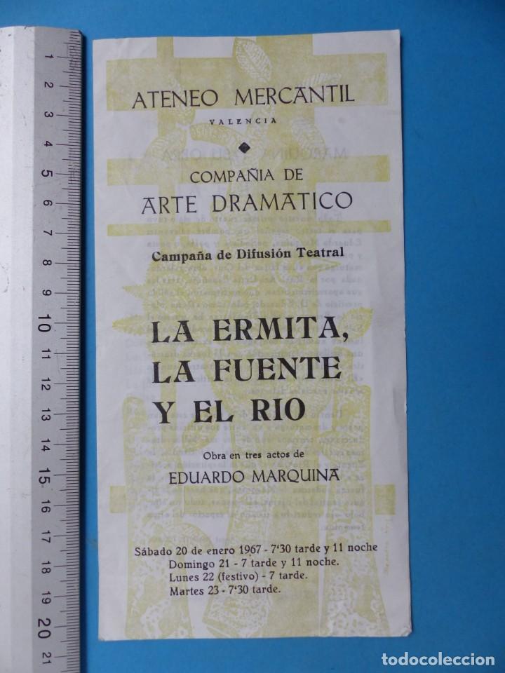 Coleccionismo: TEATRO, 27 ANTIGUOS PROGRAMAS, AÑOS 1960 - VER FOTOS ADICIONALES - Foto 6 - 185970680