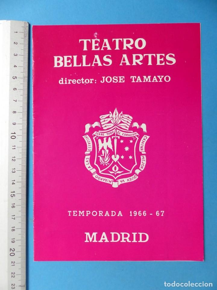 Coleccionismo: TEATRO, 27 ANTIGUOS PROGRAMAS, AÑOS 1960 - VER FOTOS ADICIONALES - Foto 7 - 185970680