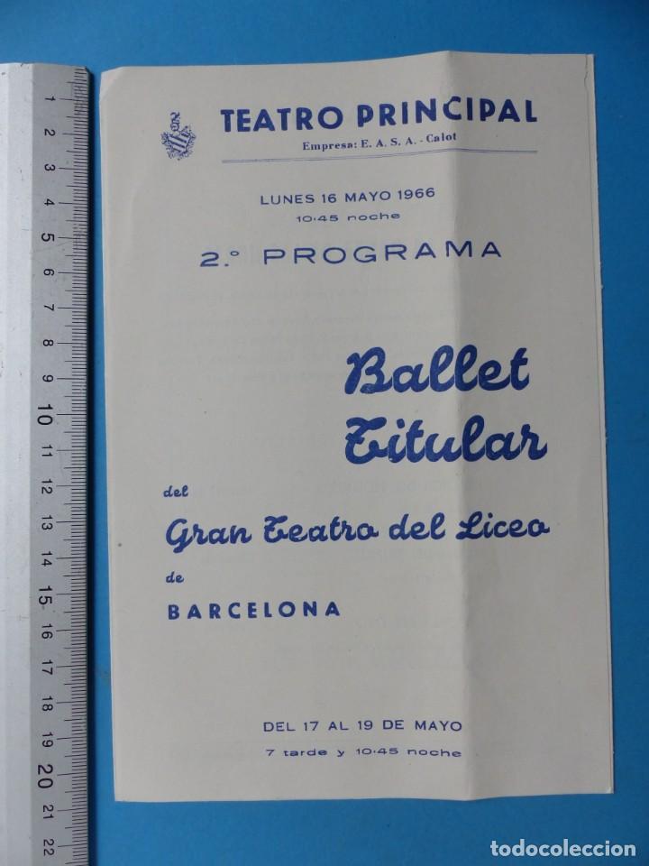 Coleccionismo: TEATRO, 27 ANTIGUOS PROGRAMAS, AÑOS 1960 - VER FOTOS ADICIONALES - Foto 8 - 185970680