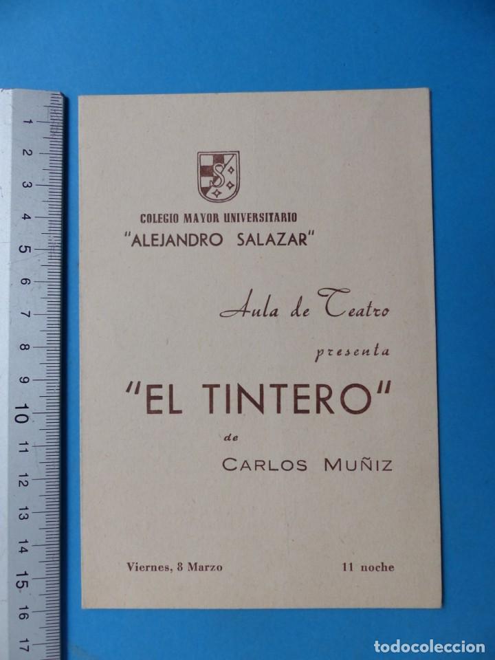 Coleccionismo: TEATRO, 27 ANTIGUOS PROGRAMAS, AÑOS 1960 - VER FOTOS ADICIONALES - Foto 11 - 185970680