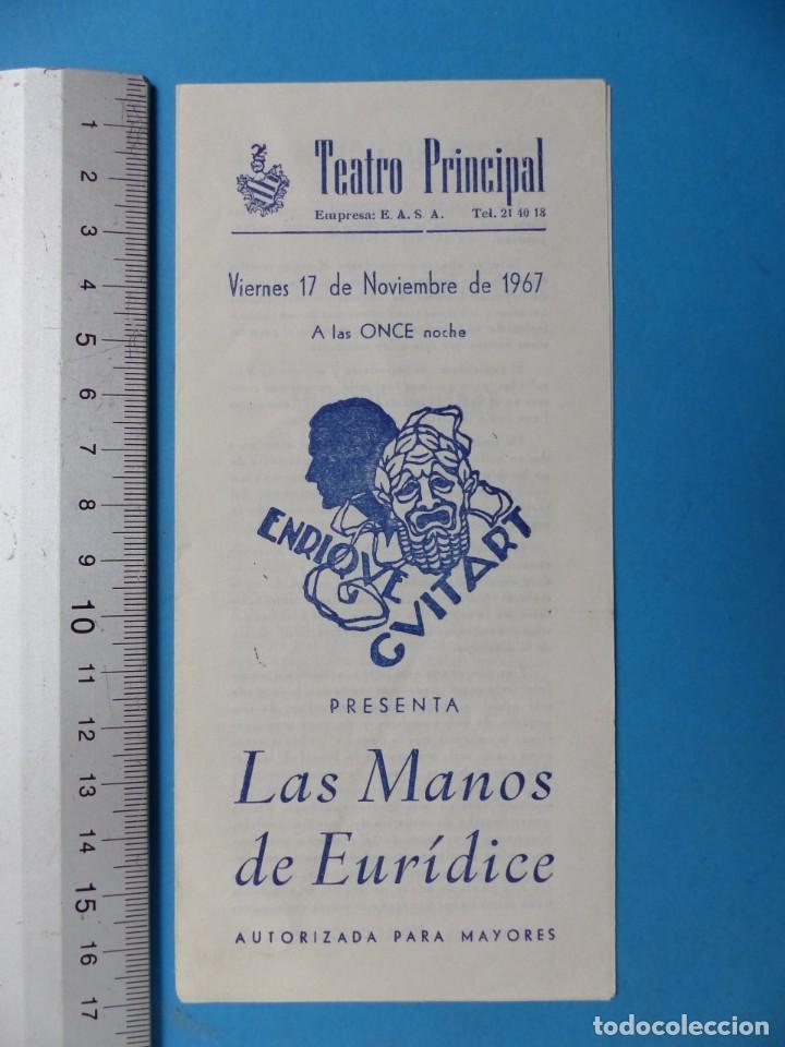 Coleccionismo: TEATRO, 27 ANTIGUOS PROGRAMAS, AÑOS 1960 - VER FOTOS ADICIONALES - Foto 15 - 185970680