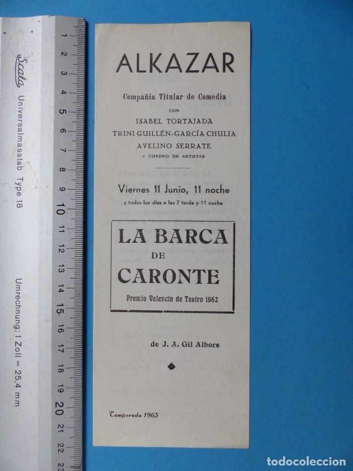 Coleccionismo: TEATRO, 27 ANTIGUOS PROGRAMAS, AÑOS 1960 - VER FOTOS ADICIONALES - Foto 16 - 185970680