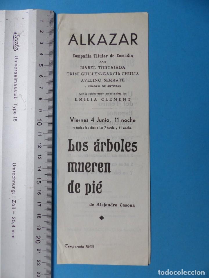 Coleccionismo: TEATRO, 27 ANTIGUOS PROGRAMAS, AÑOS 1960 - VER FOTOS ADICIONALES - Foto 17 - 185970680