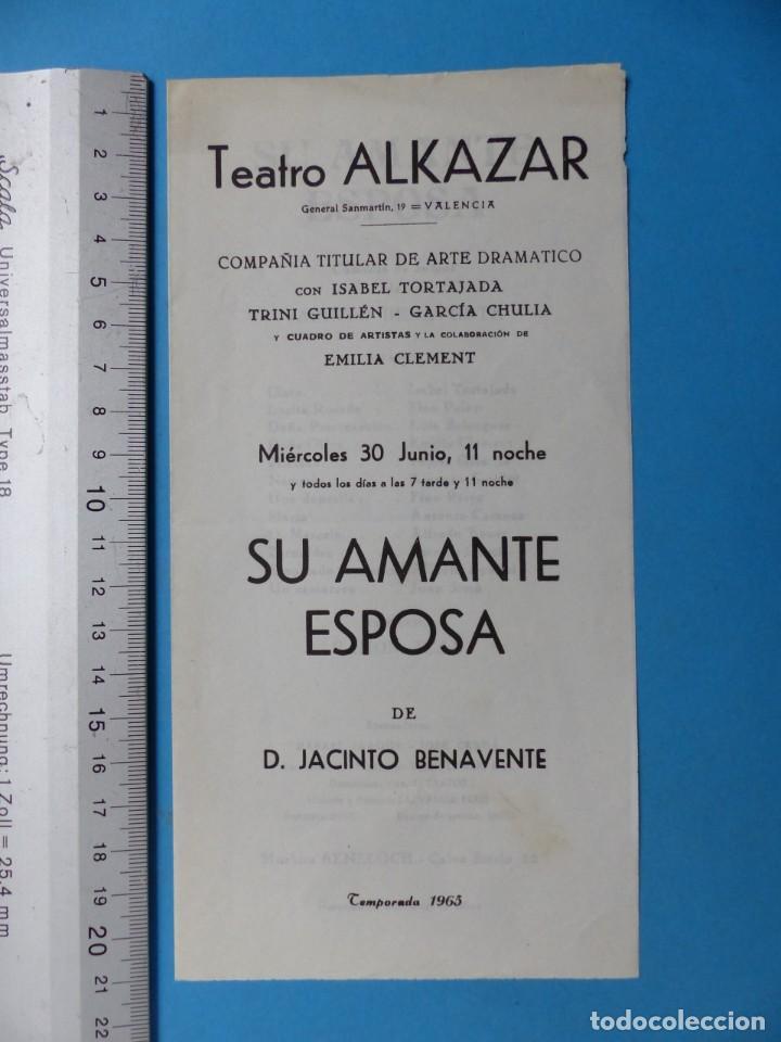 Coleccionismo: TEATRO, 27 ANTIGUOS PROGRAMAS, AÑOS 1960 - VER FOTOS ADICIONALES - Foto 20 - 185970680