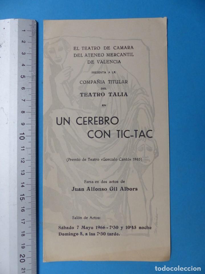 Coleccionismo: TEATRO, 27 ANTIGUOS PROGRAMAS, AÑOS 1960 - VER FOTOS ADICIONALES - Foto 21 - 185970680