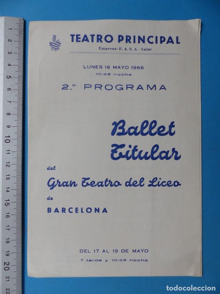 Coleccionismo: TEATRO, 27 ANTIGUOS PROGRAMAS, AÑOS 1960 - VER FOTOS ADICIONALES - Foto 24 - 185970680