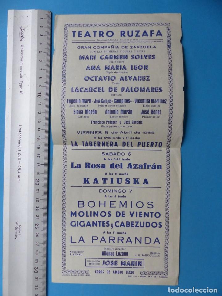 Coleccionismo: TEATRO, 27 ANTIGUOS PROGRAMAS, AÑOS 1960 - VER FOTOS ADICIONALES - Foto 28 - 185970680