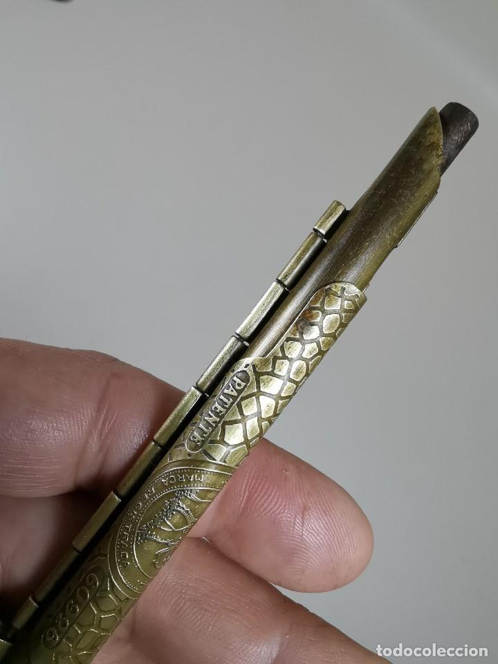 Coleccionismo: ANTIGUA MAQUINA PARA LIAR PAPEL DE FUMAR MARCA ELEFANTE PATENTE 60926,COLECCIONISMO TABACO,FUMADOR - Foto 12 - 186387196