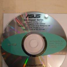 Coleccionismo: ASUS VIA CHIPSET SERIES 2000 YAMAHA S YXG 50 REVISTA V3.13.06. Lote 186436908