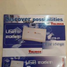 Coleccionismo: CAJA VIKINGS USB. Lote 186437418