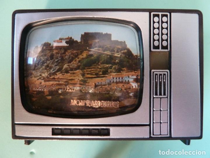 Coleccionismo: ANTIGUO VISOR DE IMAGENES FORMATO TV-VIRGEN DEL CASTILLO·MONTANCHEZ-(SOUVENIR) - Foto 4 - 187089855
