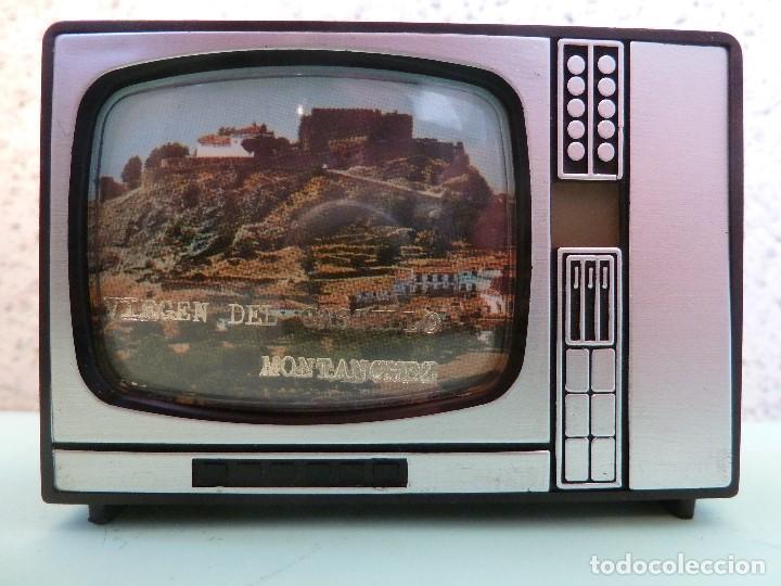 ANTIGUO VISOR DE IMAGENES FORMATO TV-VIRGEN DEL CASTILLO·MONTANCHEZ-(SOUVENIR) (Coleccionismo - Varios)