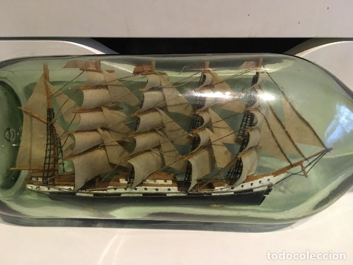 Coleccionismo: Barco en botella - Foto 2 - 187570166
