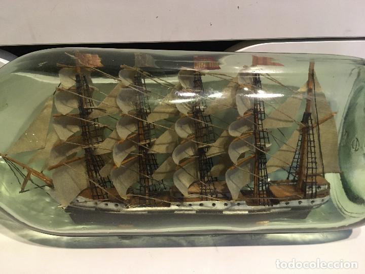 Coleccionismo: Barco en botella - Foto 4 - 187570166