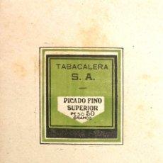 Coleccionismo: PAPEL PICADO FINO SUPERIOR PESO 50 GRAMOS. TABACALERA S.A.. Lote 187584712