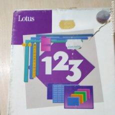 Coleccionismo: LOTUS 1 2 3 EN DISKETTE DE 5 1/4 VERSION 1.0A - 1989. Lote 188553318