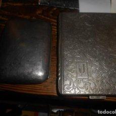 Coleccionismo: PAREJA DE PITILLERAS PLATEADAS. Lote 188667820
