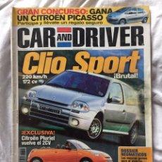 Coleccionismo: REVISTA DE COCHES CAR AND DRIVER. Lote 188738118