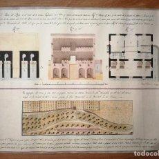 Coleccionismo: REPRODUCCIÓN MOLINO HARINERO CONVENTO DEL CARMEN DE VALENCIA EN LA ELIANA, CORTES VALENCIANAS, 2001. Lote 188815080