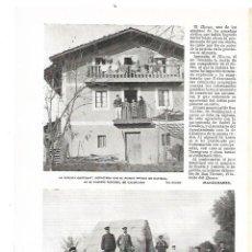 Coleccionismo: AÑO 1909 RECORTE PRENSA ALICANTE SAN VICENTE SANT VICENÇ DETENCION EL HERRERO ASESINO GUARDIA CIVIL. Lote 189194491