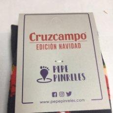 Coleccionismo: CALCETINES - CRUZ CAMPO ESPECIAL - COLECCION . Lote 189252428