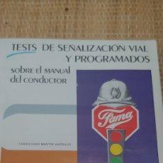 Coleccionismo: LIBRO DE TEST AUTOESCUELA LASSO AÑOS 80. Lote 189389613