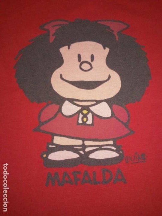 Coleccionismo: Vestido rojo Mafalda Quino Oysho Pequeño Camisón - Foto 2 - 189405767