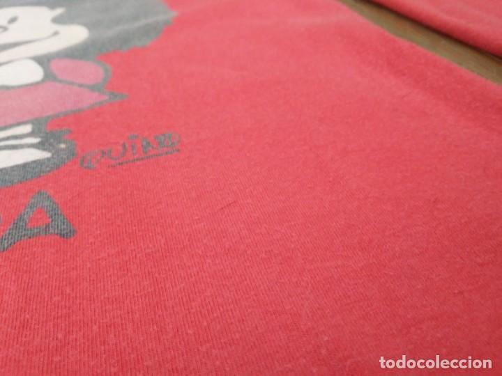 Coleccionismo: Vestido rojo Mafalda Quino Oysho Pequeño Camisón - Foto 4 - 189405767