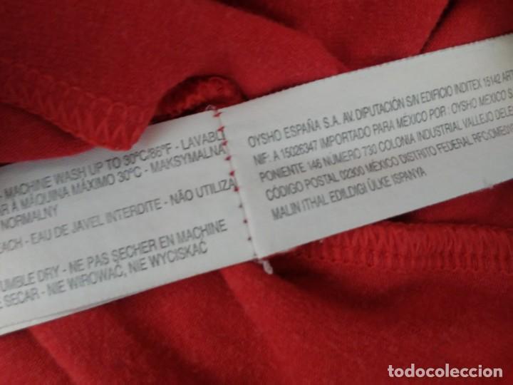 Coleccionismo: Vestido rojo Mafalda Quino Oysho Pequeño Camisón - Foto 6 - 189405767