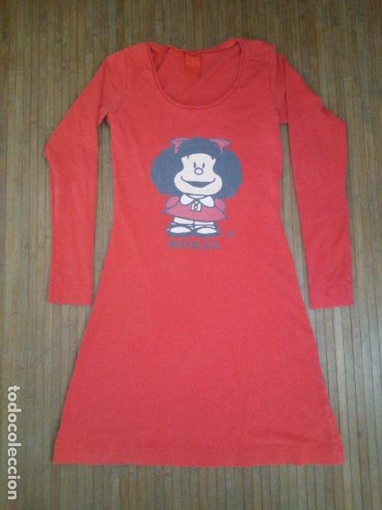 Coleccionismo: Vestido rojo Mafalda Quino Oysho Pequeño Camisón - Foto 9 - 189405767